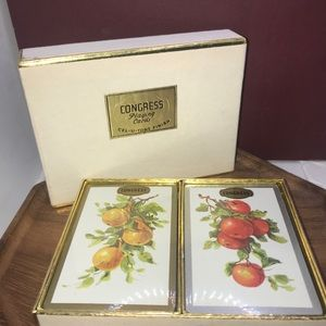 Congress brand Vintage playing cards w/ box